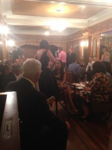Wedding at the Paragon Café, Katoomba