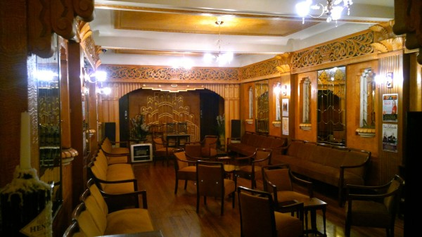 Banquet Hall at the Paragon Cafe Katoomba August 2015