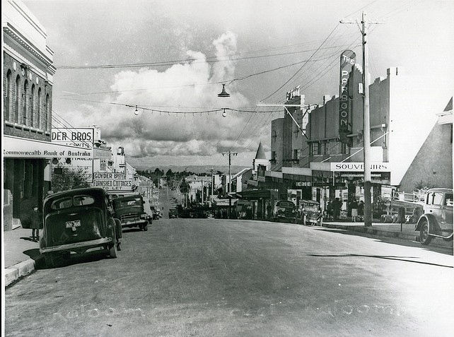 Historical Photo of the Paragon in Katoomba Street in 1940
