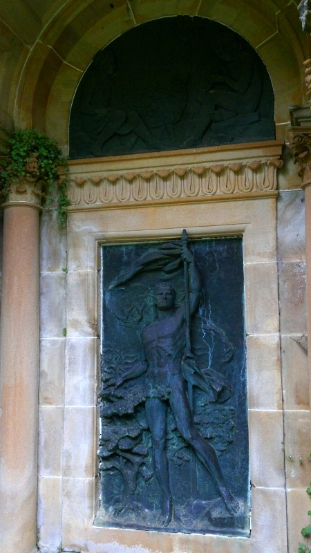 Bronze Nude, Garden Porch (Everglades House, Leura)